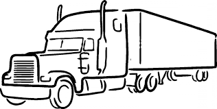100 Semi Truck Tattoos Outline Drawing Free Download Best