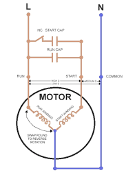 Harbor Breeze Ceiling Fan Capacitor Wiring by Capacitor Wiring Diagram In Ceiling Fan On Capacitor Download