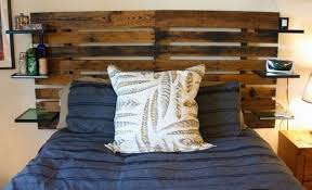 New Awesome Wooden Pallet Headboard Designs