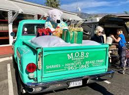 100 The Big Green Truck Santa Barbara Christmas Vignettes Santa Dolphin Sant