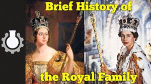 Brief History Of The Royal Family YouTube