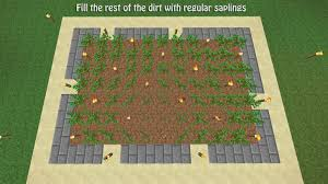 Types Of Christmas Tree Lights by How To Build A Tree Farm In Minecraft For Easy Access To All Types