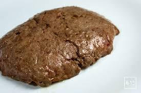 comment cuisiner un steak haché steak haché de canard recette 61 degrés