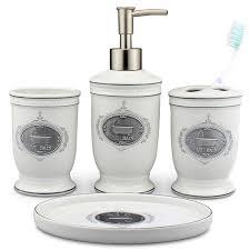 4 stücke porzellan bad accessoires set europäischen badezimmer keramik flüssigkeit seifenspender zahnbürstenhalter hause dekoration