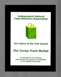 100 Truck Stores The Turnip INFRA Store Of The Year Award