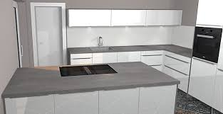 artego musterküche l küche mit kochinsel in hochglanz weiß