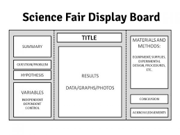 Science Project Tri Fold Layout Fair Presentation Board Template Best 20