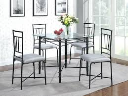 Metal Kitchen Chairs Opulent Design And Awesome Black
