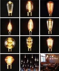 40w e27 filament light bulbs vintage retro industrial antique