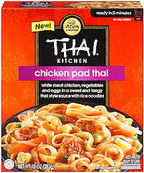 Thai Kitchen Tk Frozen Microwave Rice Noodles & Sauce Chicken Pad