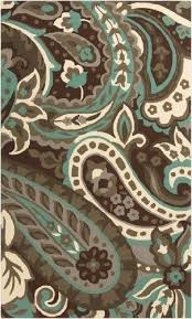 Awesome Blue Area Rugs As Walmart For Best Paisley Rug Modern 2 X