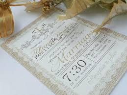 Vintage Lace Wedding Invites Rustic Invitations By Way Of Using An Impressive Design Concept
