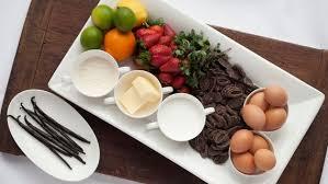 Kuchen Mit Flã Ssigem Kern Rezept Schokoladen Kuchen Mit Flüssigem Kern Und Erdbeeren