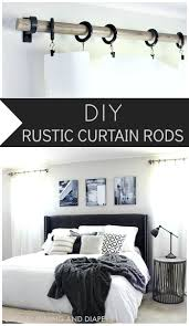 Restoration Hardware Estate Curtain Rods by Diy Rustic Curtain Rods Rustic Curtain Rods Rustic Curtains And