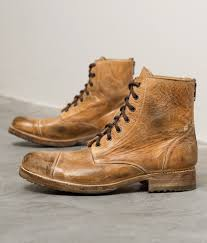 bed stu protege boot men s shoes in tan buckle