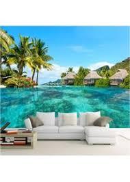 benutzerdefinierte 3d fototapete hd malediven meer strand
