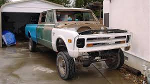 100 68 Chevy Truck Parts 19 Chevrolet C10 Crew Cab ReBuild Hand Built Cars