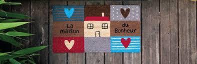 paillasson design vente de tapis d entrée paillassons originaux