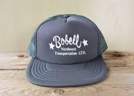 100 Northwest Trucking BOBELL Transportation Ltd Vintage 80s Gray Colored Etsy