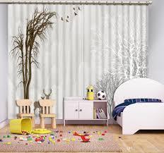 großhandel kreative moderne einfache baum wasser 3d blackout fenster vorhang für wohnzimmer schlafzimmer küche vorhänge dekoration yiwu2017 88 3