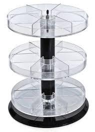 Spinning Nail Polish Rack Display Counter Cosmetics