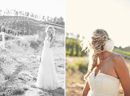 Rustic Wedding Bride In Dress