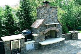 Building Outdoor Fireplace How To Build A Outdoor Fireplace