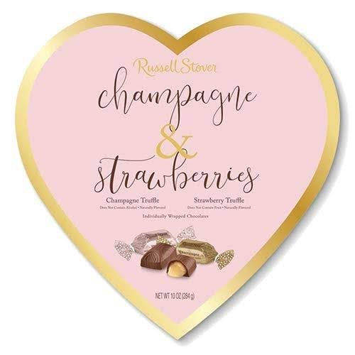 Russell Stover Champagne and Strawberries Chocolate