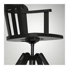 Skruvsta Swivel Chair Black by Skruvsta Swivel Chair Idhult Black Swivel Chair Room And