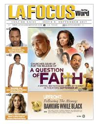 LA Focus On The Word September 2017 Issue By Newspaper