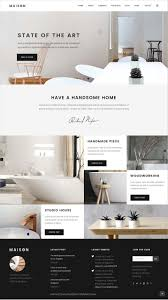 100 Interior Architecture Websites Charming Design Website Maison Is Clean And Modern 12in1