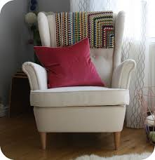 simple design strandmon wing chair at home design strandmon wing