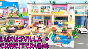 playmobil riesige luxusvilla komplett mit erweiterung seratus1 5574