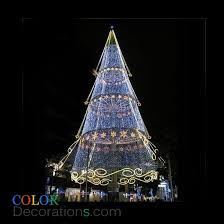 Spiral Lighted Christmas Trees Outdoor by Cd Tr109 Conical Christmas Trees Decorations Outdoor Acrylic