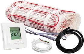 elektrische fußbodenheizung komplett set bz 150 plus 4 8 m 0 5 mx 9 6 m