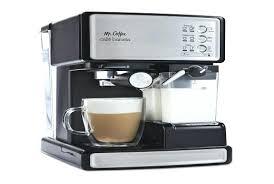 Mr Coffee Ecmp1000 Amazon Com Cafe Barista Espresso And Cappuccino Maker Silver Semi Automatic Pump