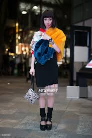 Misha Janette Attends The Writtenafterwards Show During Tokyo Fashion Week Wearing A Gisela Febrino Top