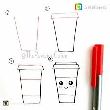 Coffee Cup Doodle From Therevisionguide
