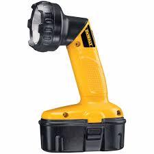 dewalt dw908 heavy duty 18v cordless pivoting flashlight