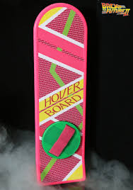 Spirit Halloween Animatronics Box by Back To The Future 1 1 Scale Hoverboard