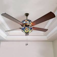 Brushed Nickel Ceiling Fan With Gray Blades by Flush Mount Ceiling Fans You U0027ll Love Wayfair