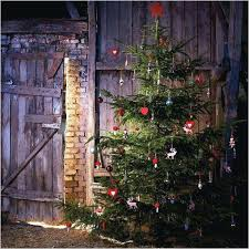 Rustic Artificial Christmas Tree For Your Home Primitive Trees Idea