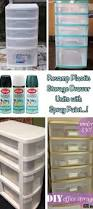 Sterilite 4 Shelf Cabinet White by Best 20 Paint Plastic Drawers Ideas On Pinterest Painting