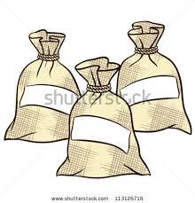 Salt Clipart Bag 2
