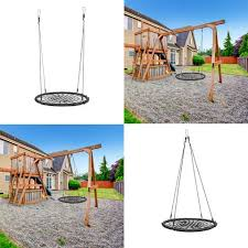 Outdoor Swing Seat Round With Hanging Kit