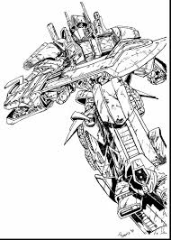 Optimus Prime Coloring Pages To Print Transformers Printable 2363