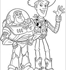 Toy Story Coloring Pages 3 On