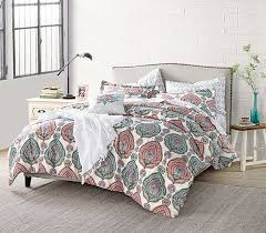 patterned multi color college comforter extra long twin dorm bedding