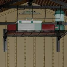 Suncast Alpine Shed Extension by Amazon Com Suncast Bmsa2l Loft Shelf Storage Sheds Garden
