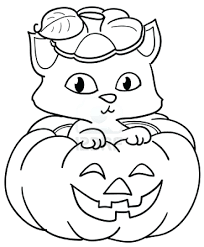 Kitten Cat Colouring Pages Christmas Color Page Printable Coloring Full Size